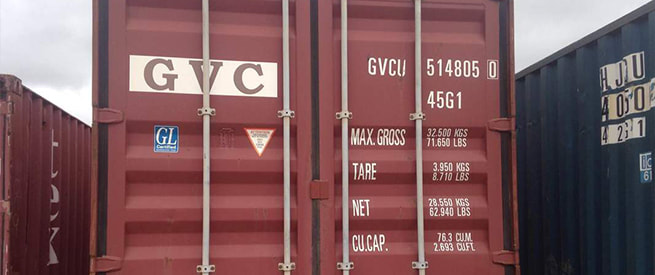Proline Rentals shipping container