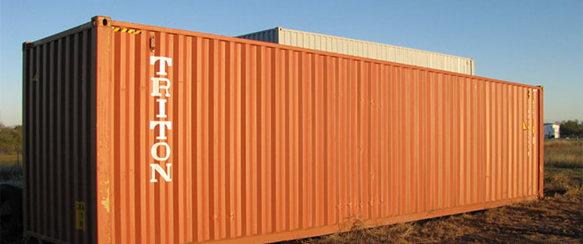 Sea Container Sales West Texas
