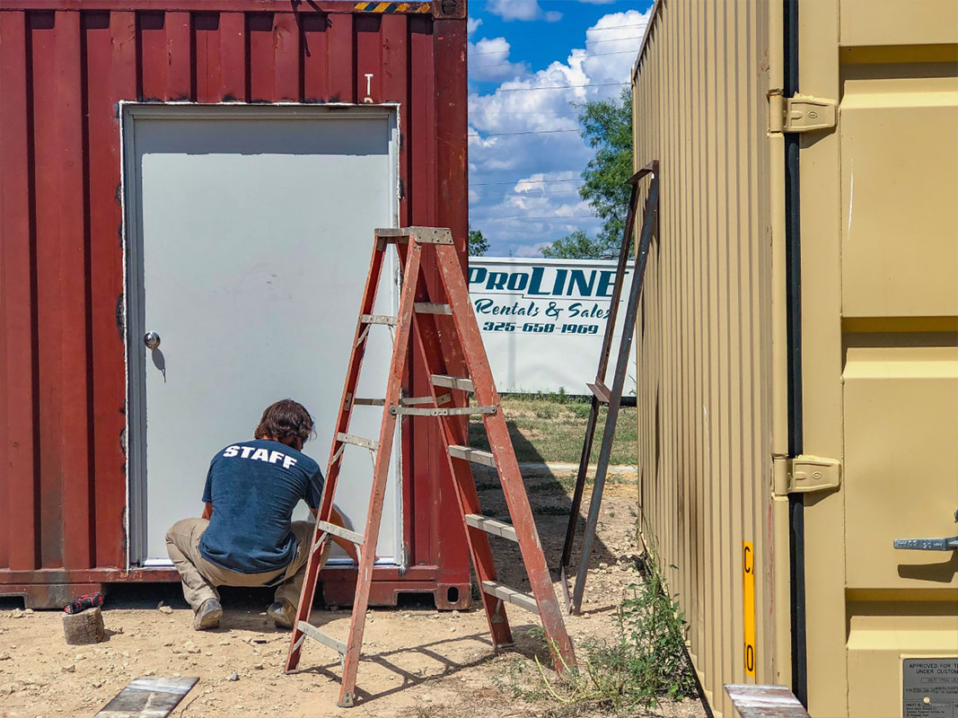 Custom Storage Containers in San Angelo